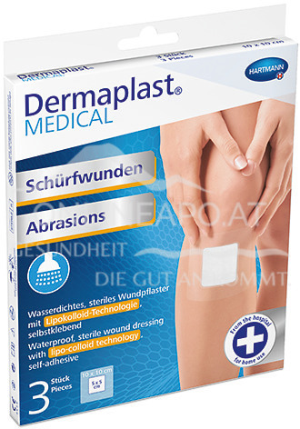 Dermaplast® MEDICAL Schürfwunden 6 x 7cm