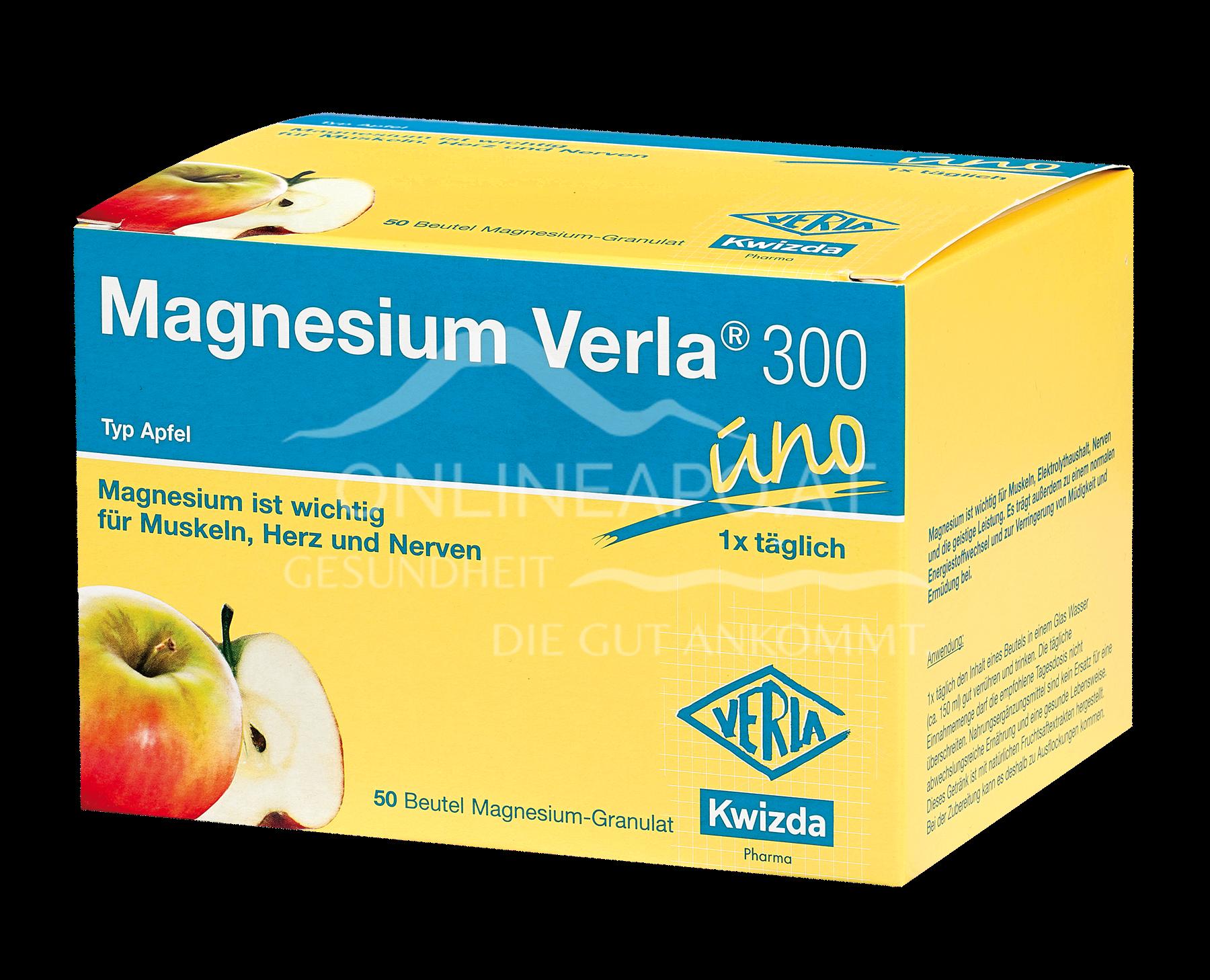MAGNESIUM VERLA® 300 UNO Granulat Apfel