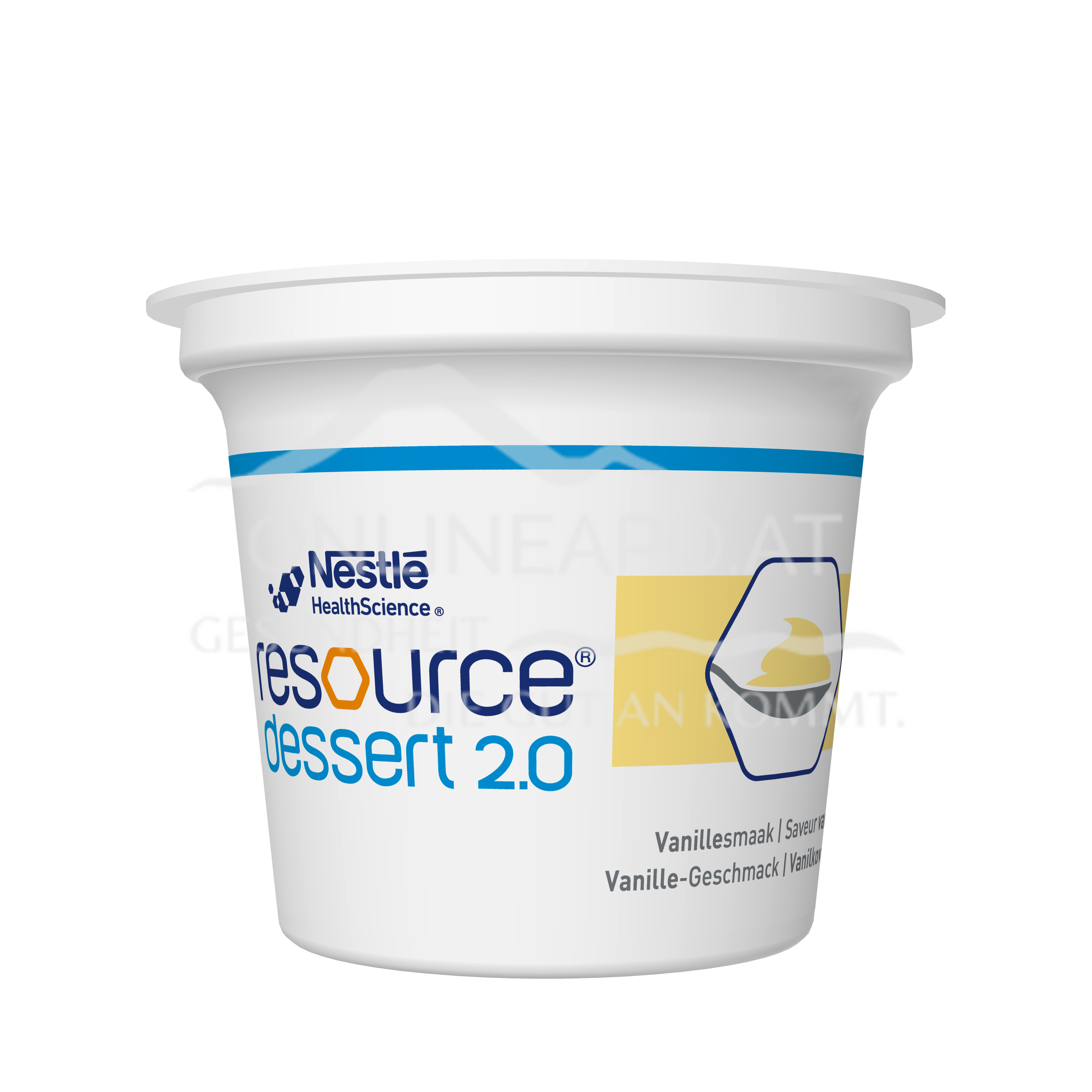 Resource® Dessert 2.0 Vanille 4x125g