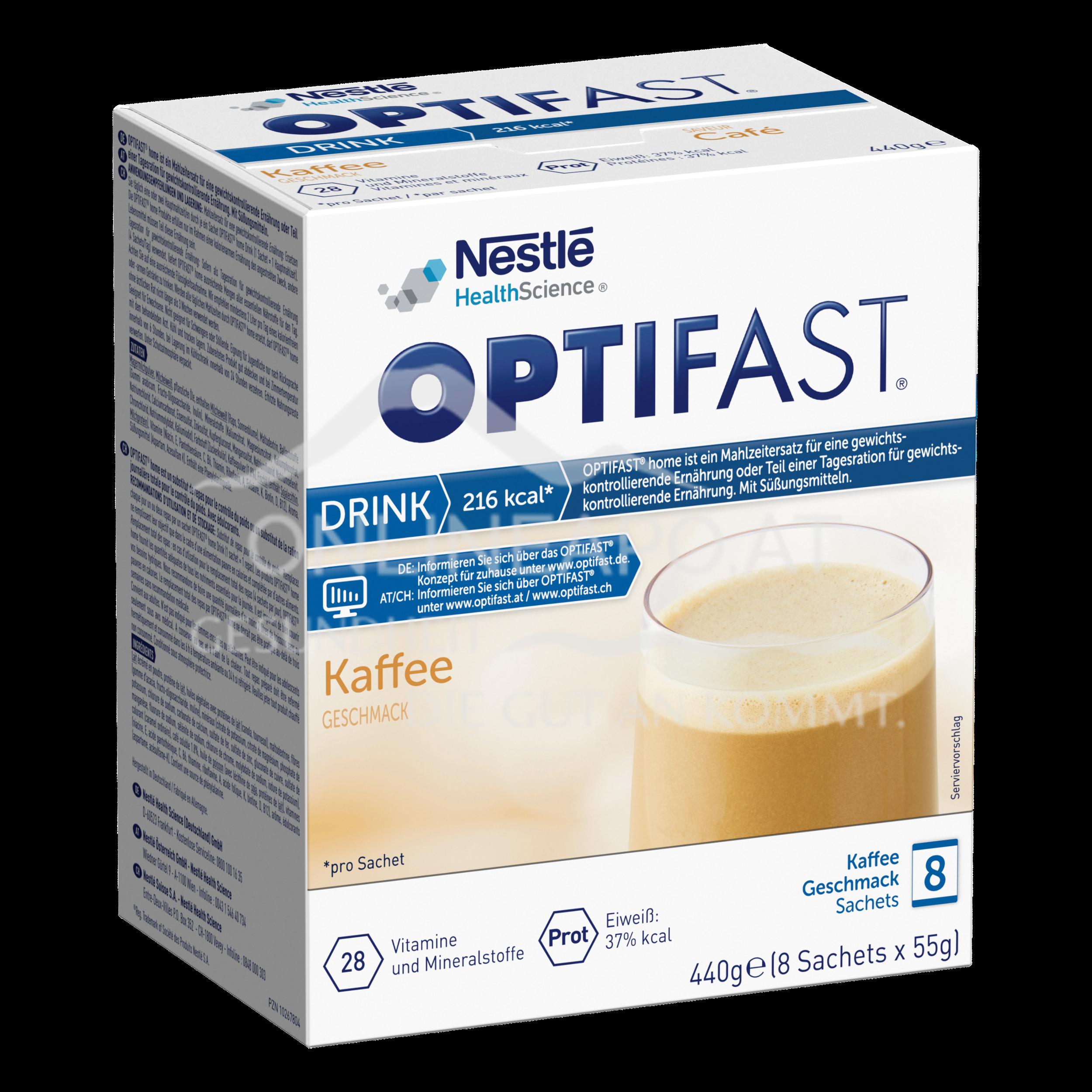 OPTIFAST® home Drink Kaffee 8x55g