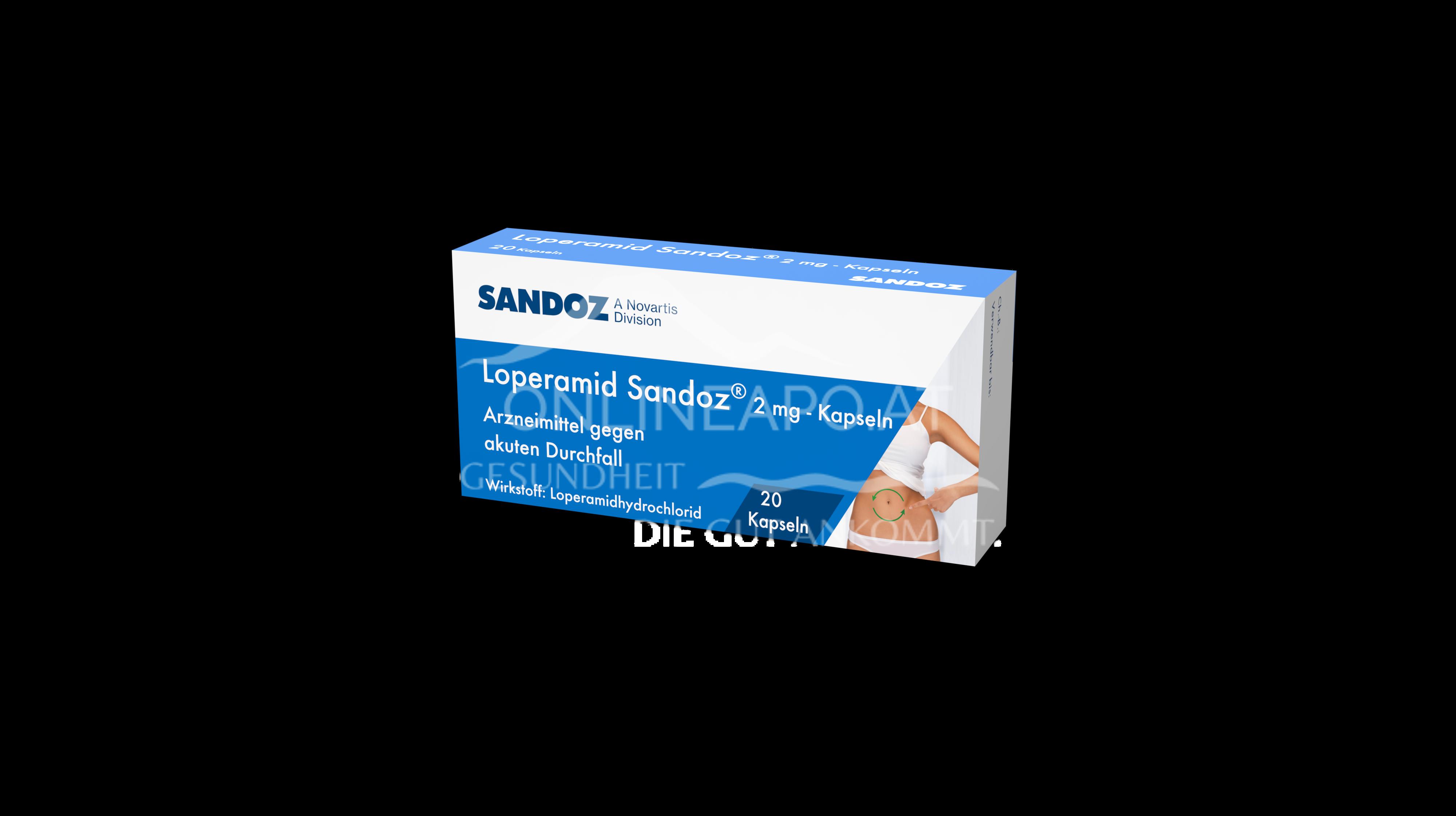 Loperamid Sandoz® 2mg Kapseln