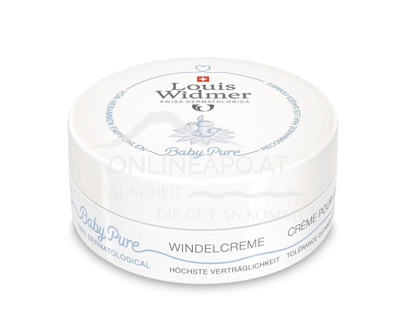 Louis Widmer BabyPure Windelcreme ohne Parfüm