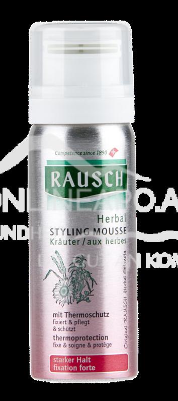 Rausch Herbal Styling Mousse starker Halt Aerosol