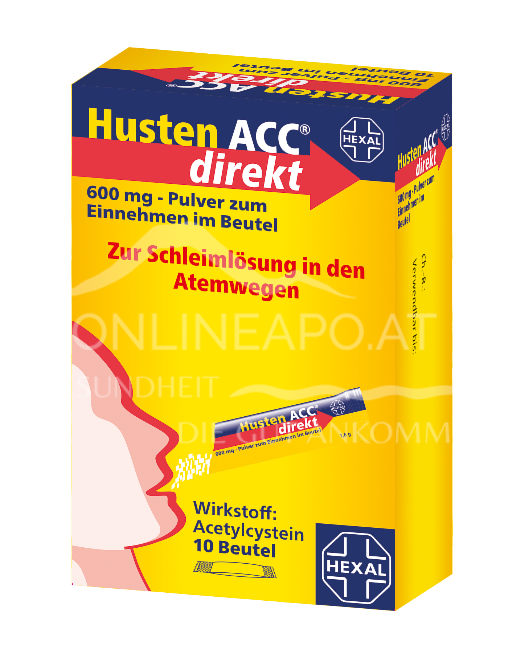 Husten ACC® direkt 600mg Beutel