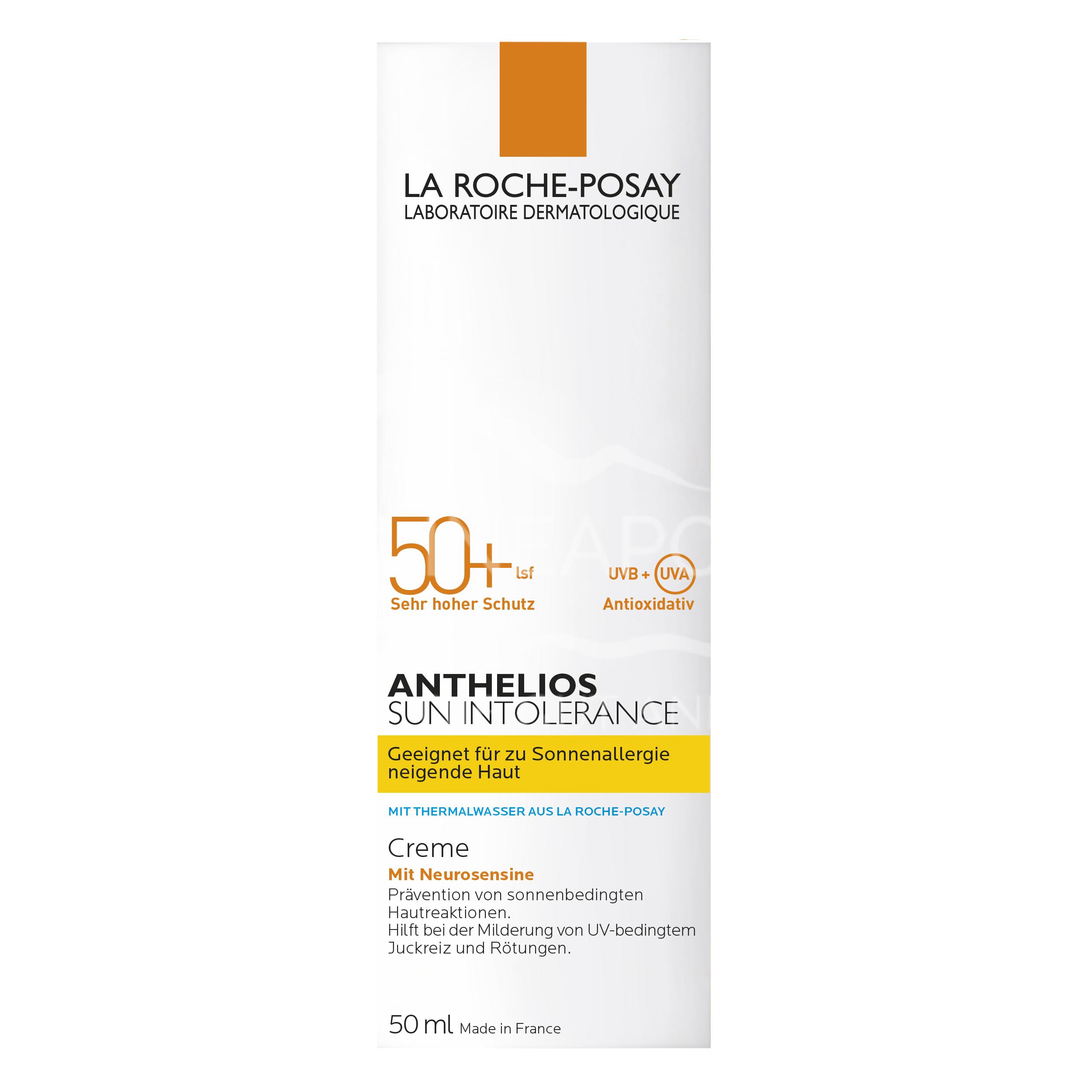 La Roche-Posay Anthelios Sun Intolerance 50+