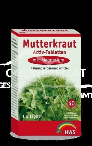 Mutterkraut Aktiv-Tabletten mit Magnesium