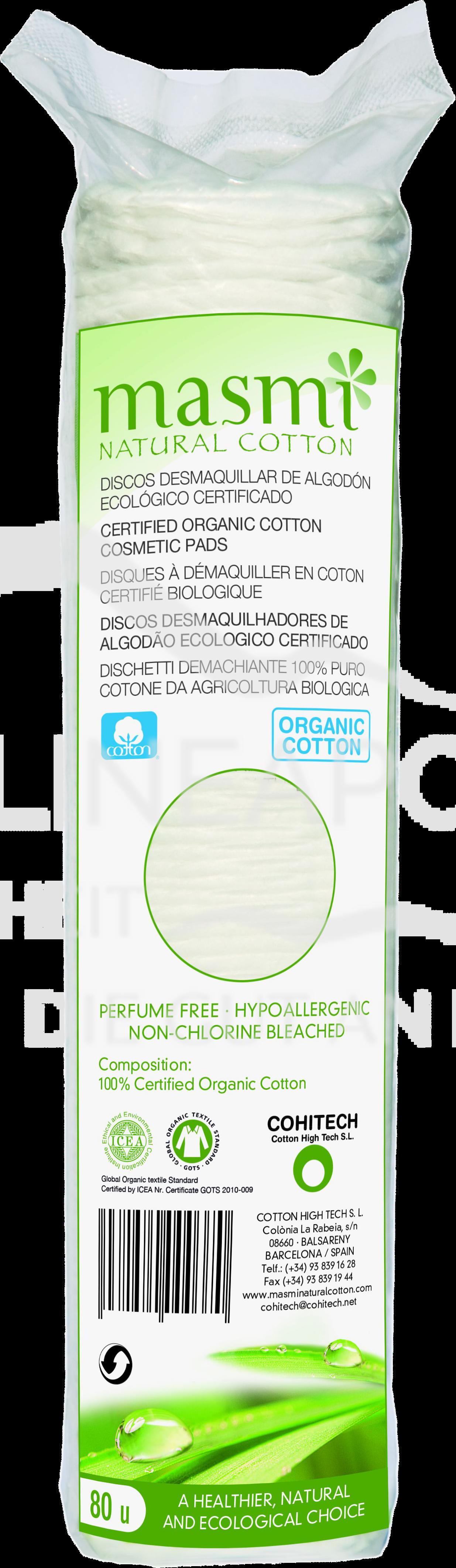 Masmi Organic Care - Bio Kosmetikpads
