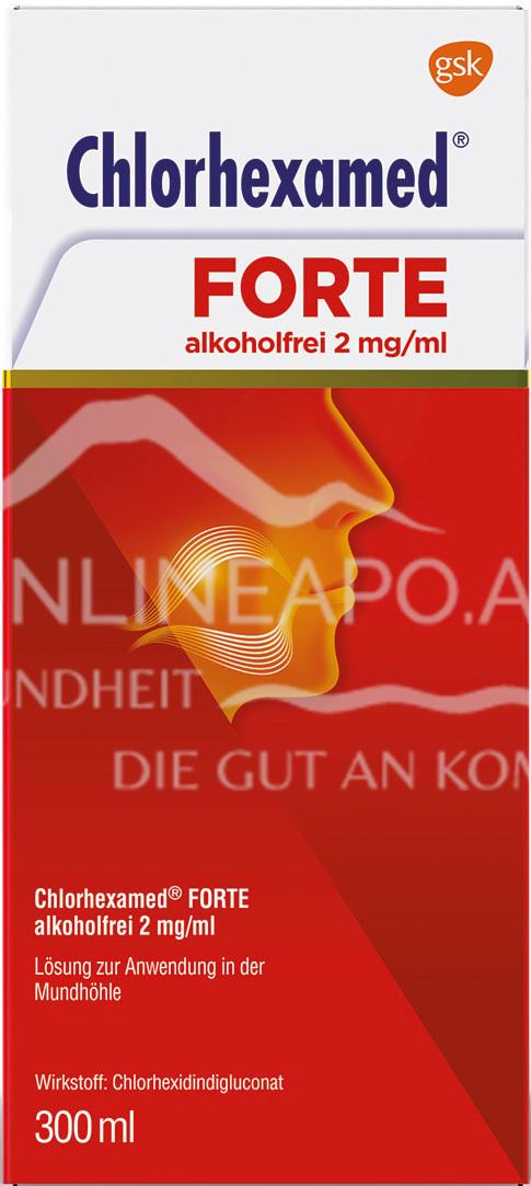Chlorhexamed® Forte alkoholfreie Lösung 2 mg/ml