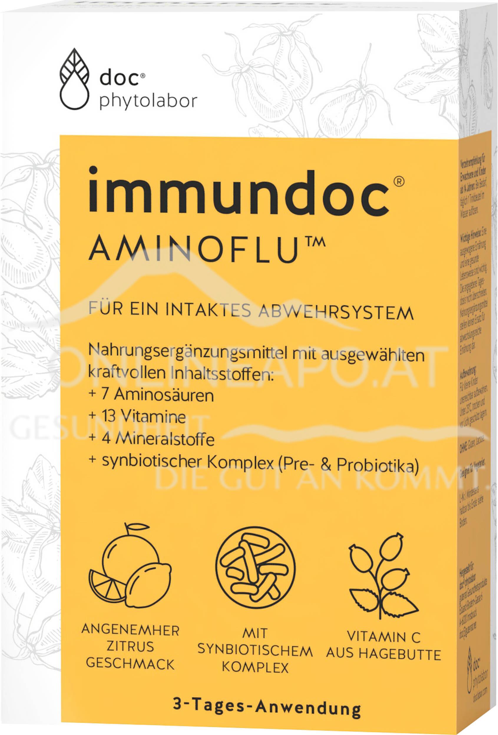 immundoc® AMINOFLU® Trinkbeutel