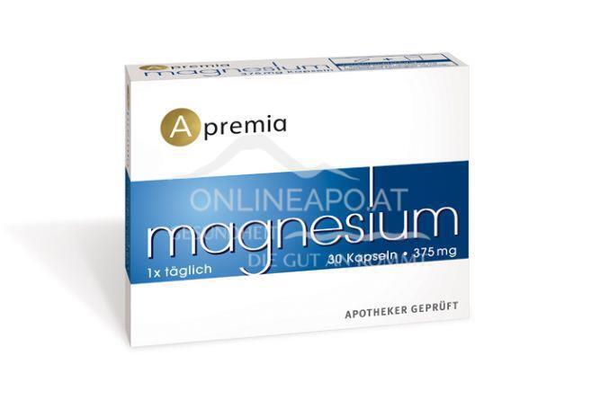 Apremia Magnesium 375mg 30 Kapseln