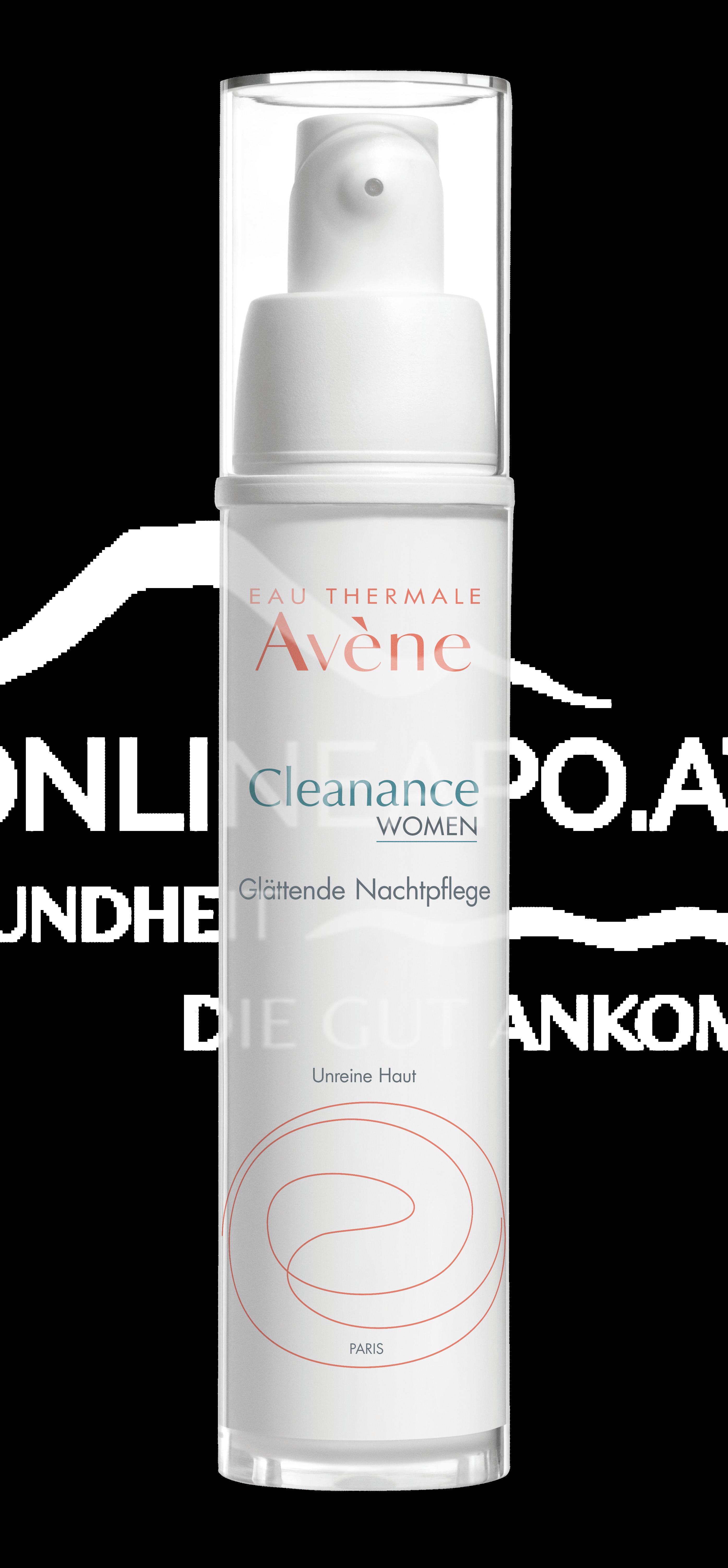 Avene Cleanance WOMEN Glättende Nachtpflege