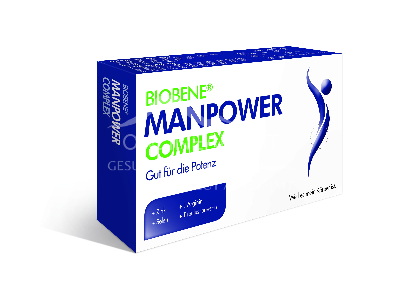 BIOBENE Manpower Complex Kapseln