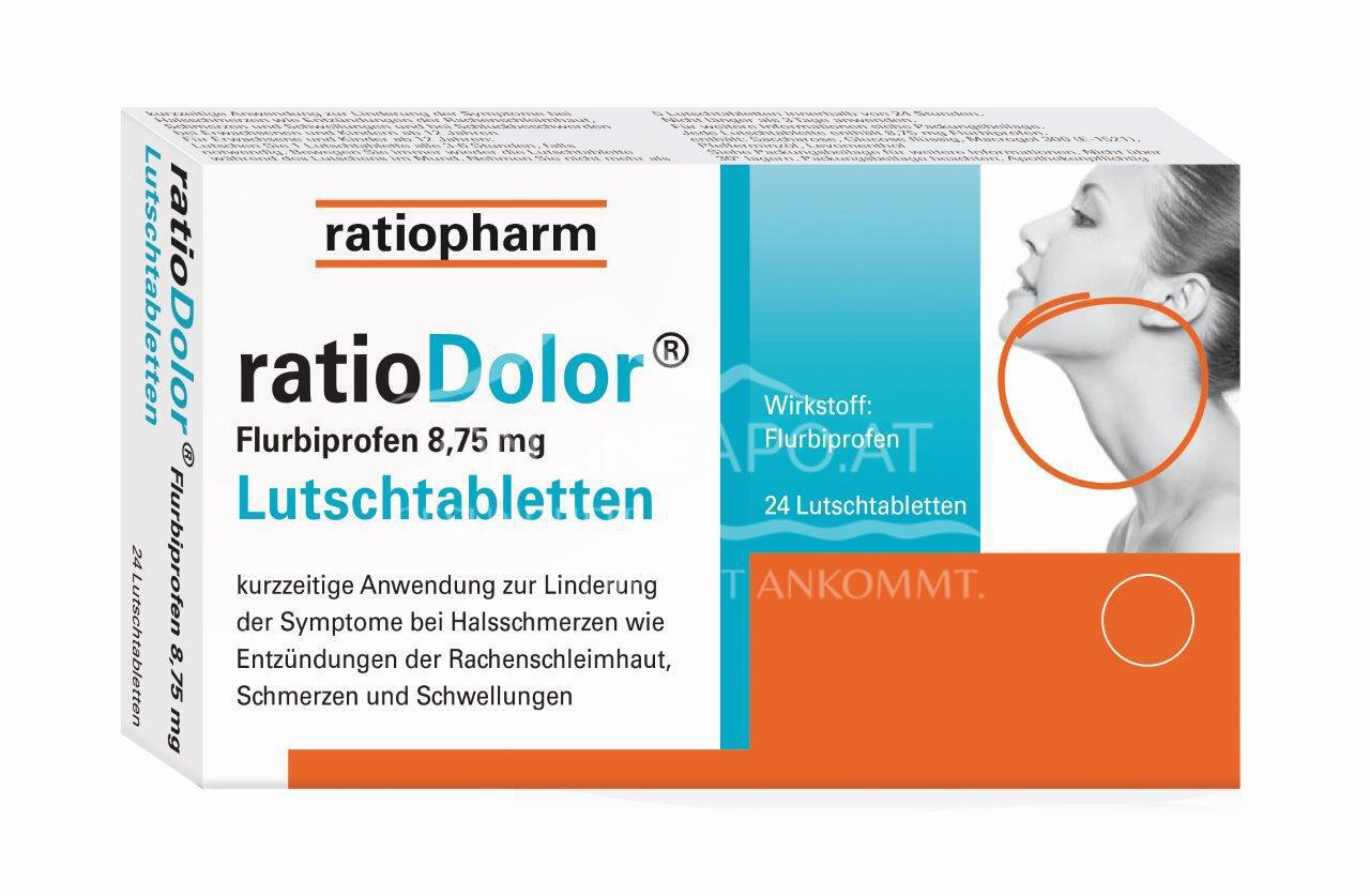 ratioDolor®Flurbiprofen 8,75mg Lutschtabletten