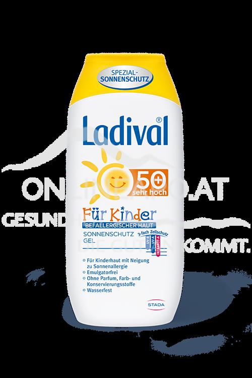 Ladival® Für Kinder bei allergischer Haut Sonnenschutz Gel LSF 50+