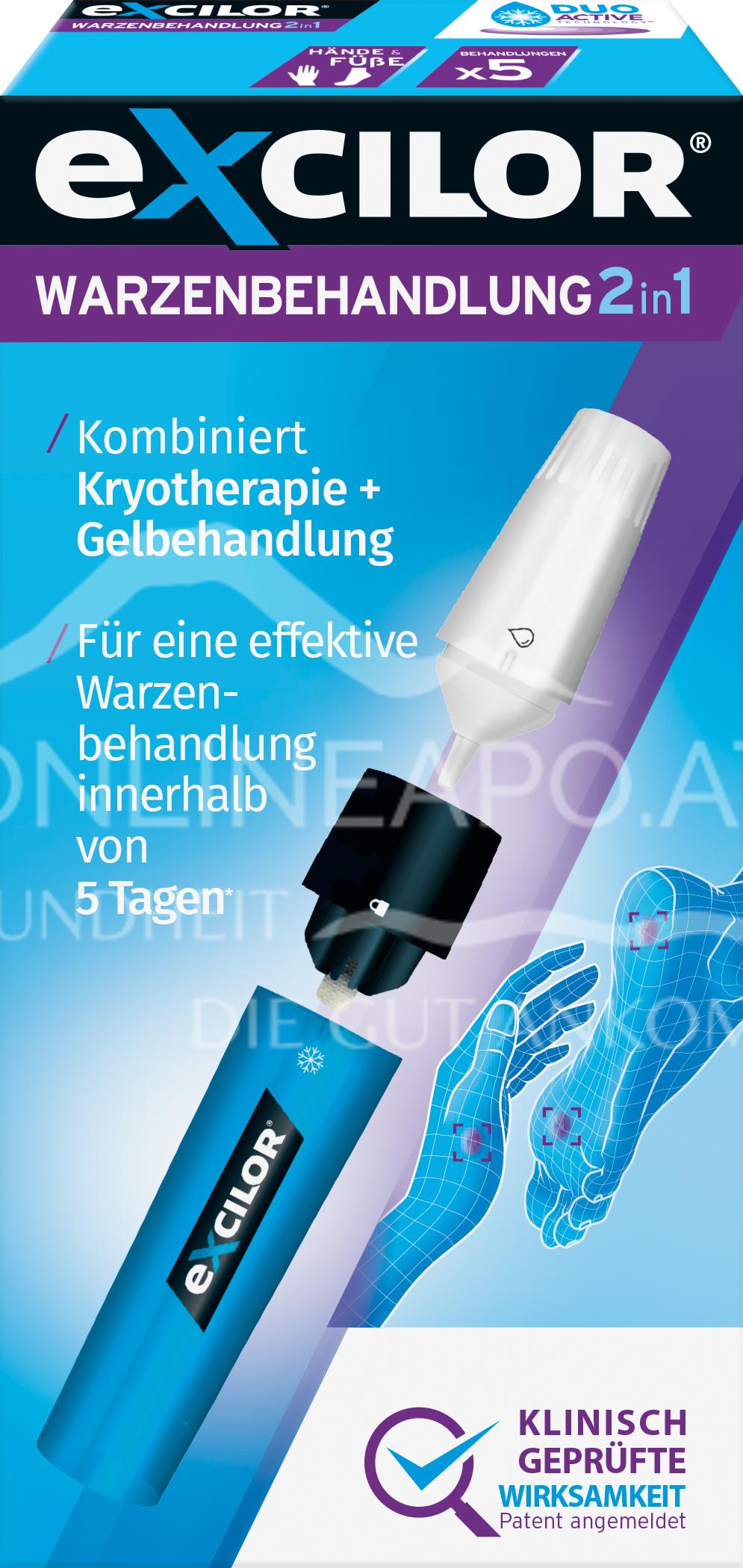 Excilor® Warzenbehandlung 2in1