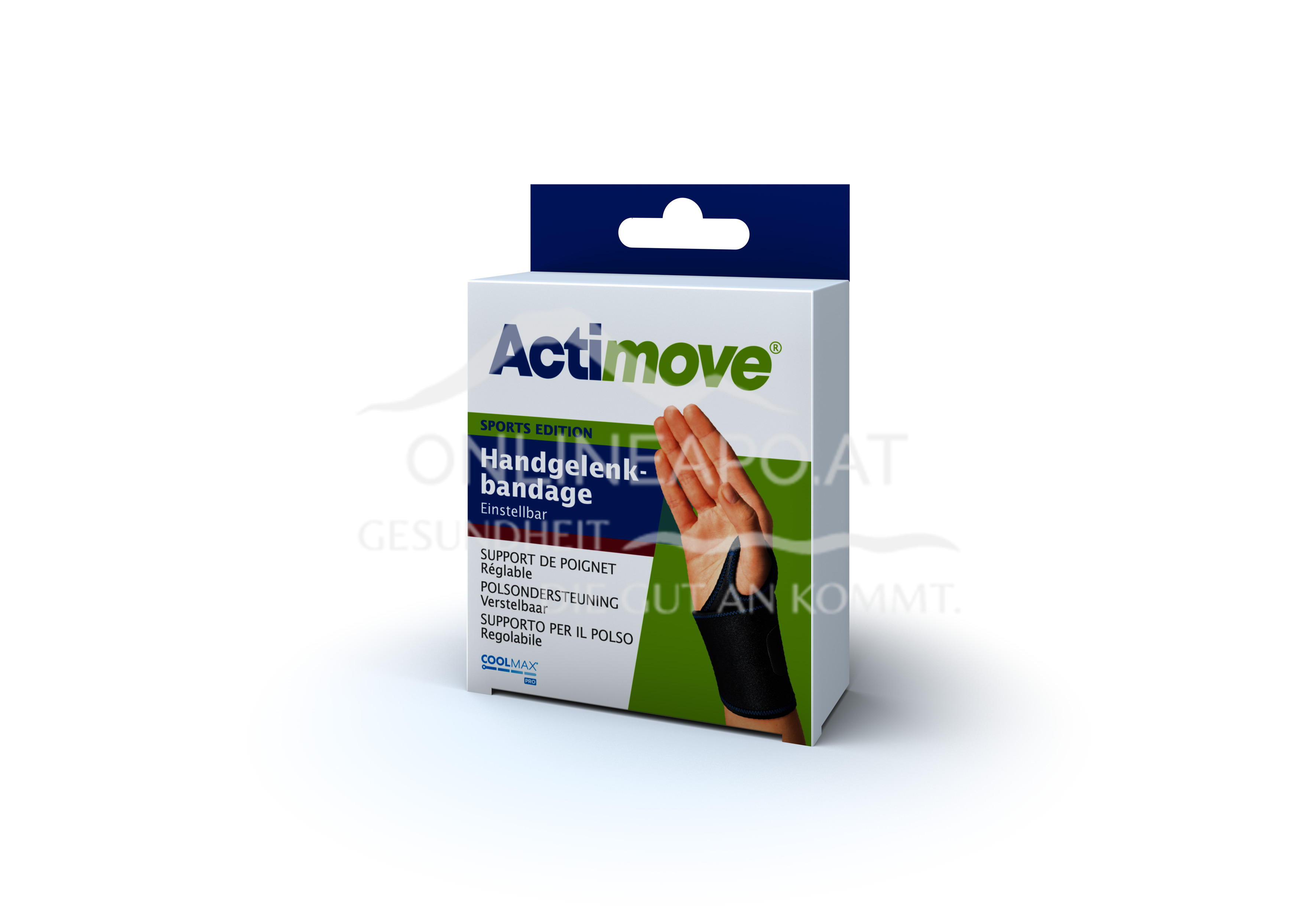 Actimove® Sport Edition Handgelenkbandage Einstellbar