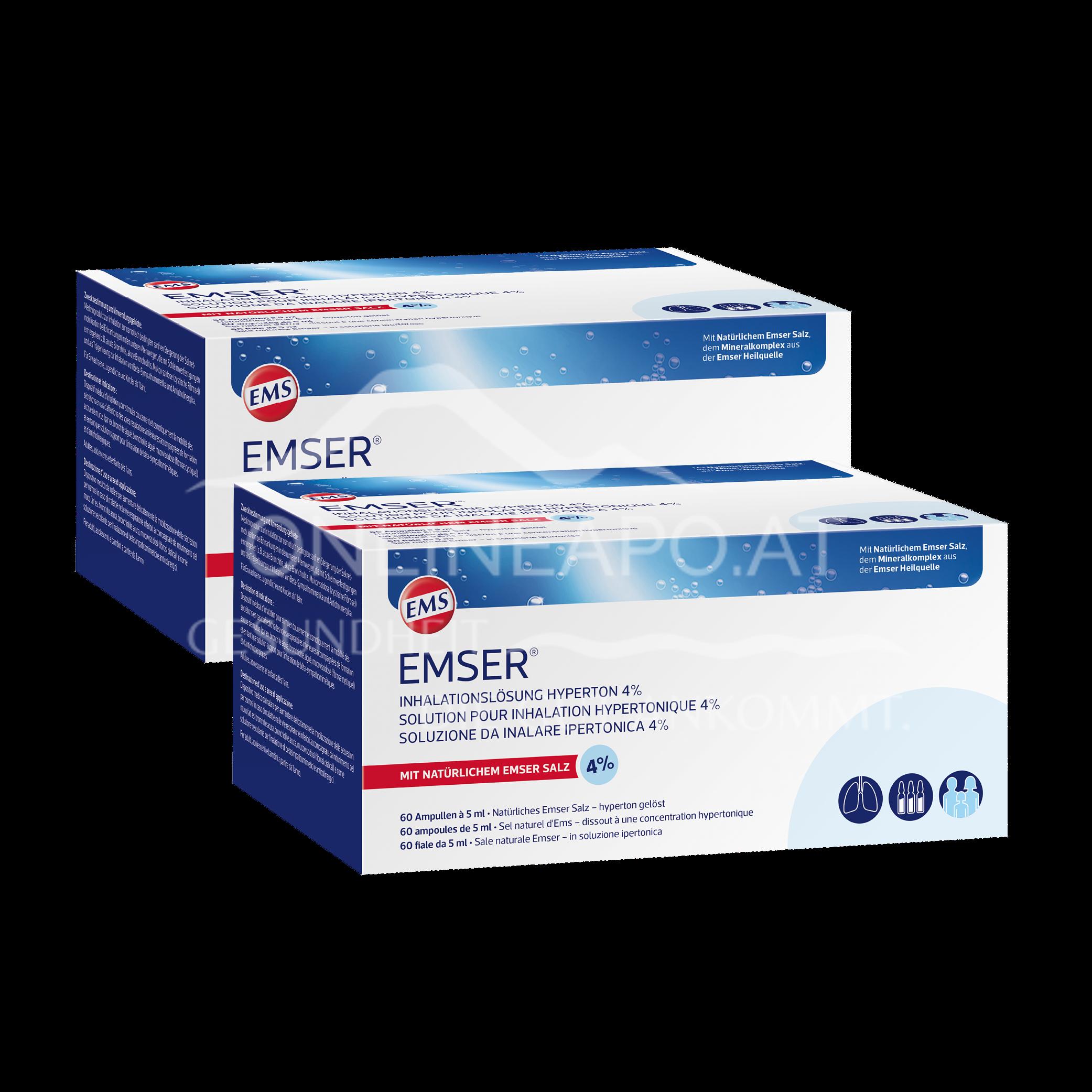 Emser® Inhalationslösung hyperton 4% Ampullen