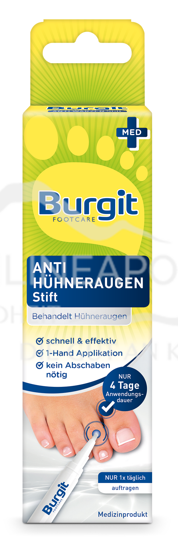 Burgit Anti Hühneraugen Stift
