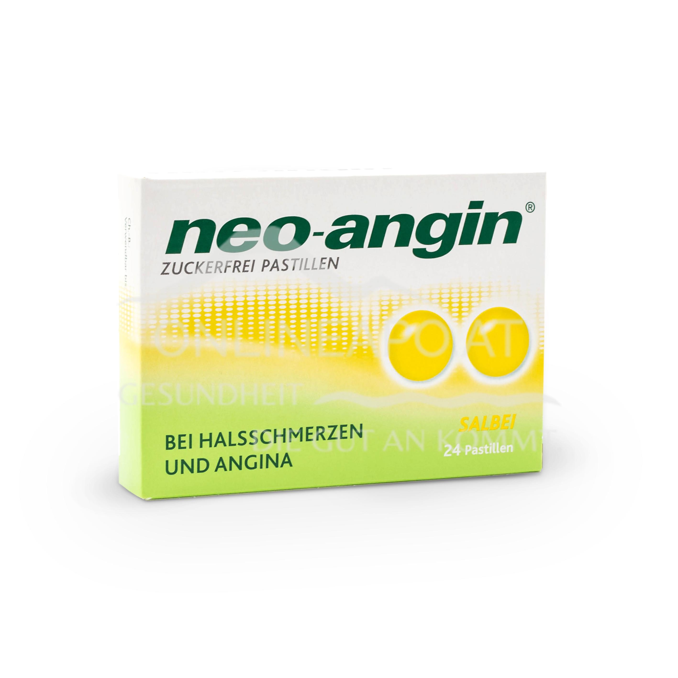 neo-angin® Salbei zuckerfrei Pastillen