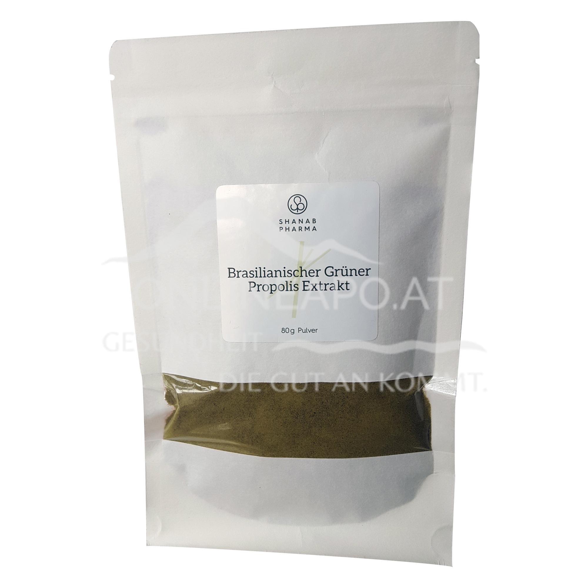 Shanab Pharma Brasilianischer Grüner Propolis Extrakt