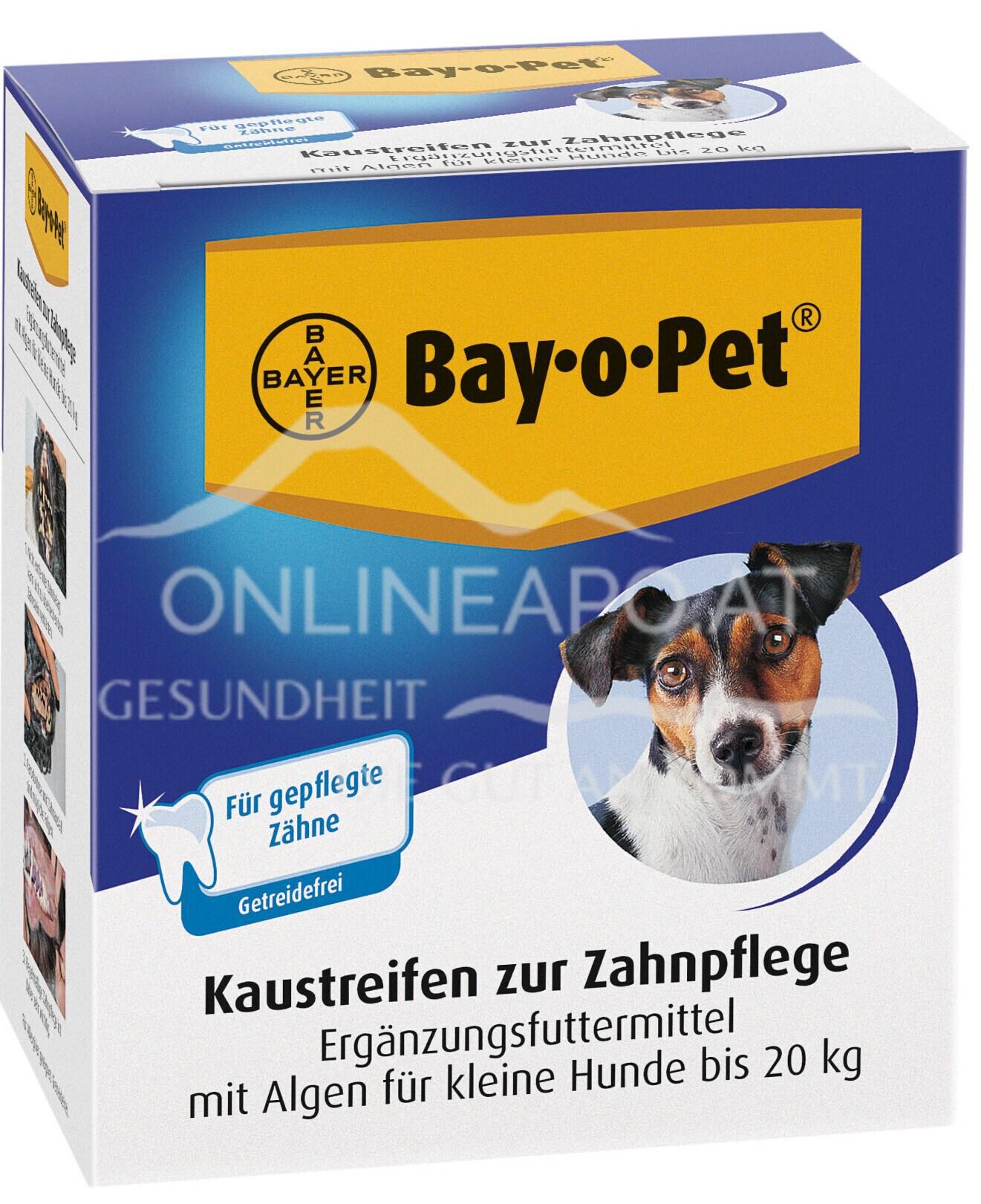 Bay·o·Pet® Zahnpflege Kaustreifen mit Algen für kleine Hunde