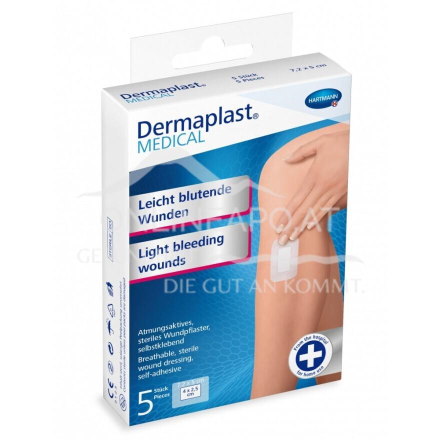Dermaplast® MEDICAL Leicht blutende Wunden (atmungsaktiv) 10 x 8cm
