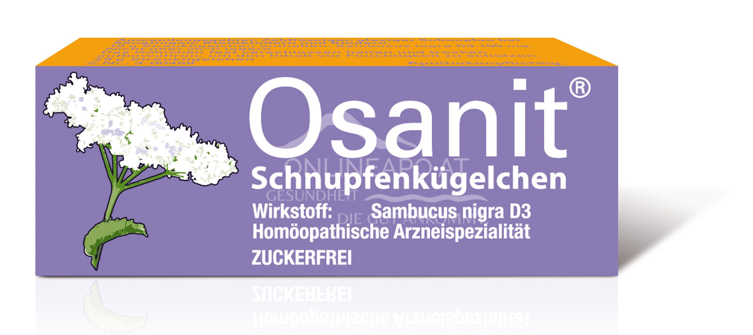 Osanit® Schnupfenkügelchen