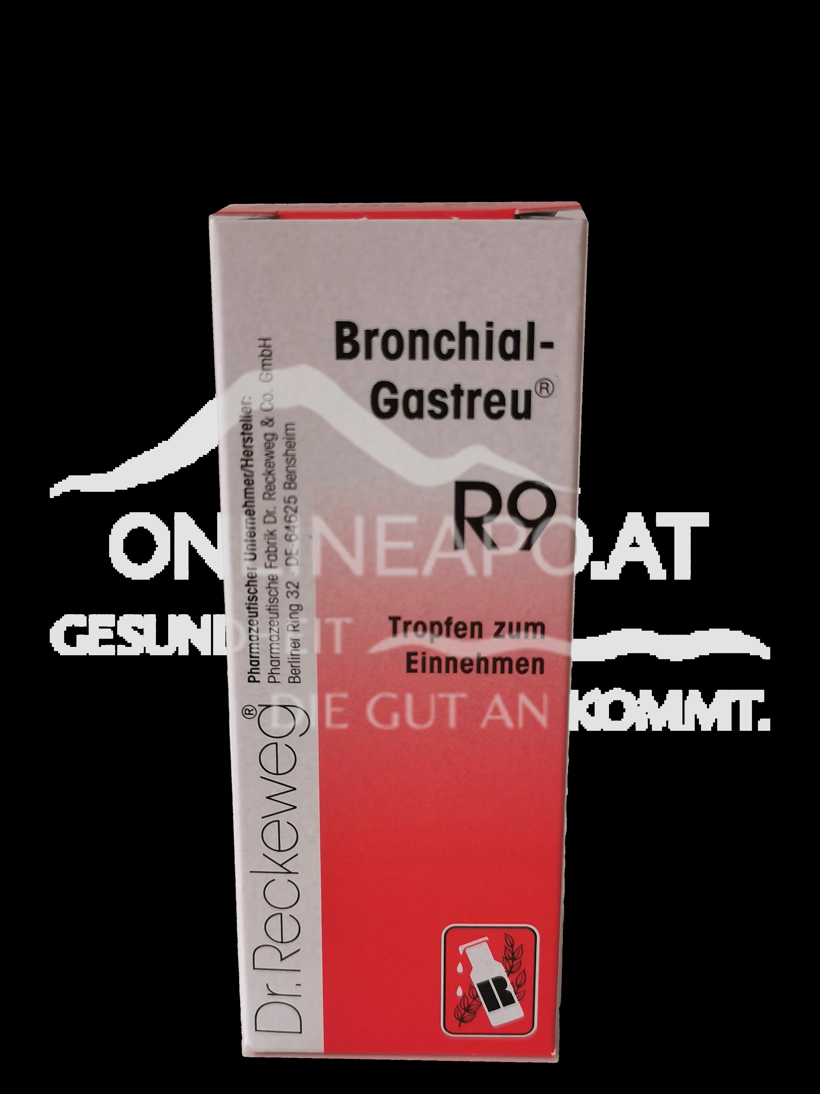 Dr. Reckeweg® Bronchial-Gastreu® R9