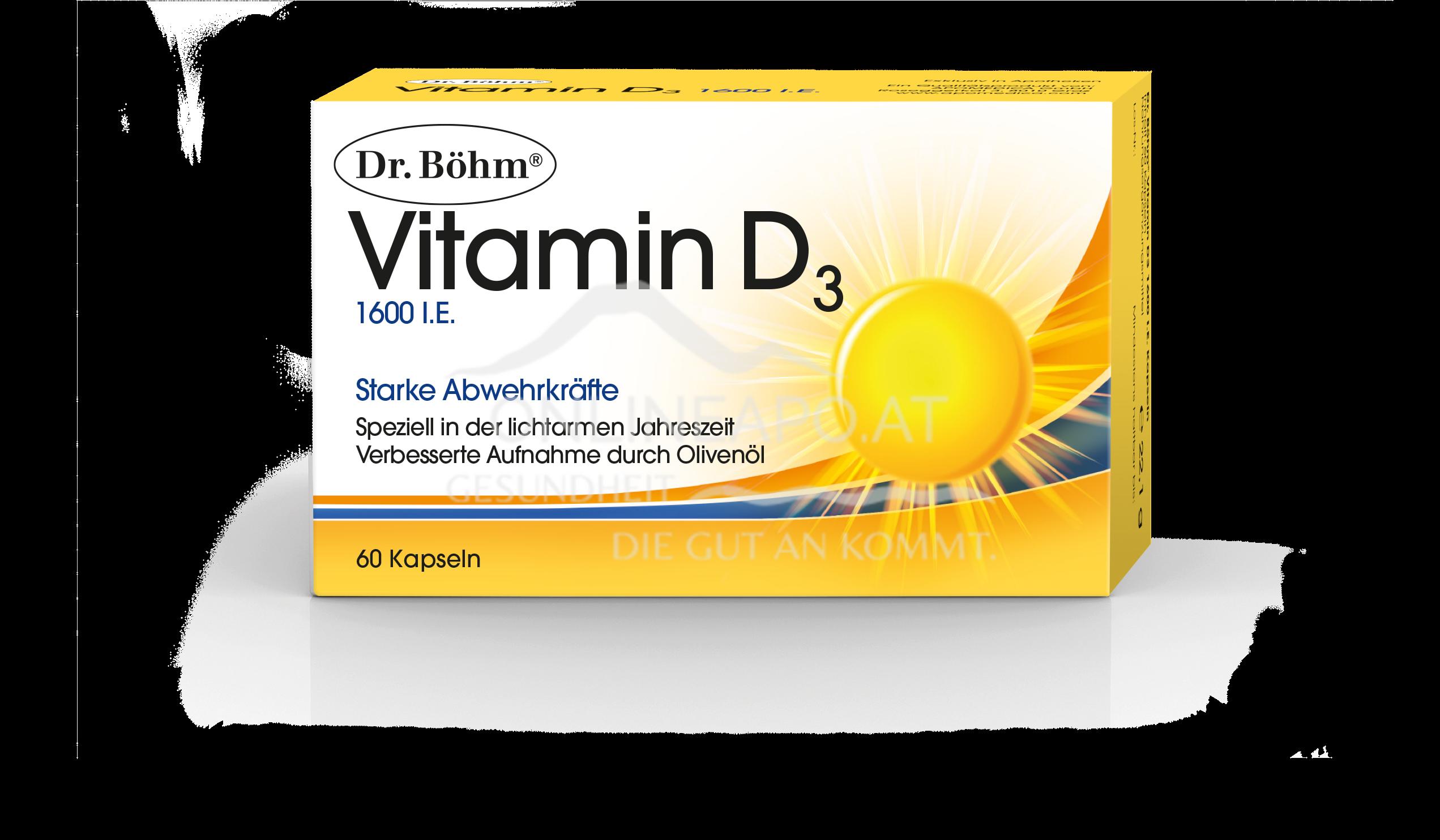 Dr. Böhm® Vitamin D3 1600 I.E.