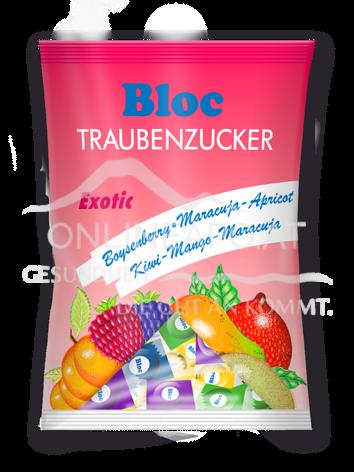 Bloc® Traubenzucker Exotic Beutel