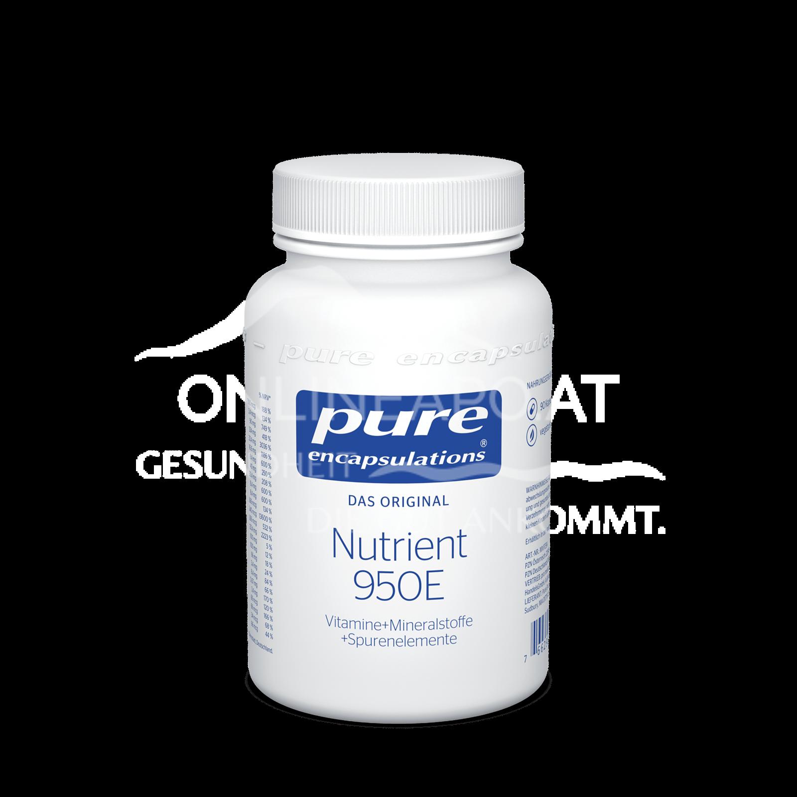 pure encapsulations® Nutrient 950E