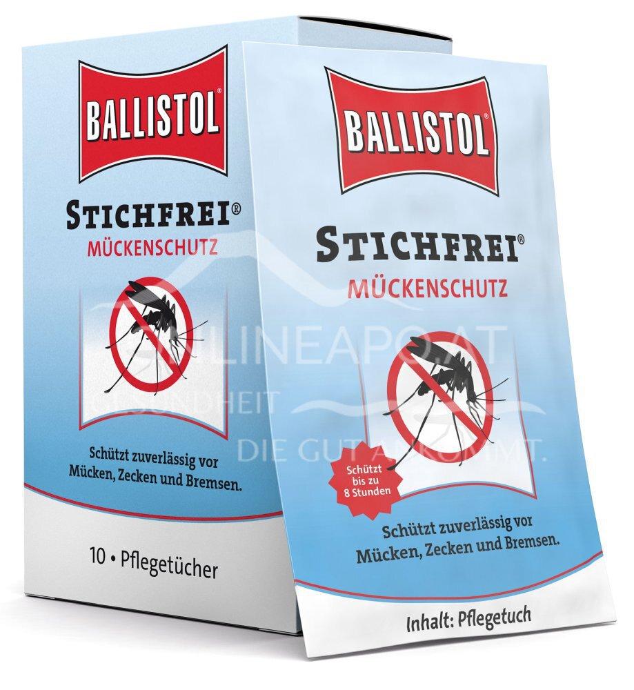 Ballistol Stichfrei Mückenschutz Pflegetücher