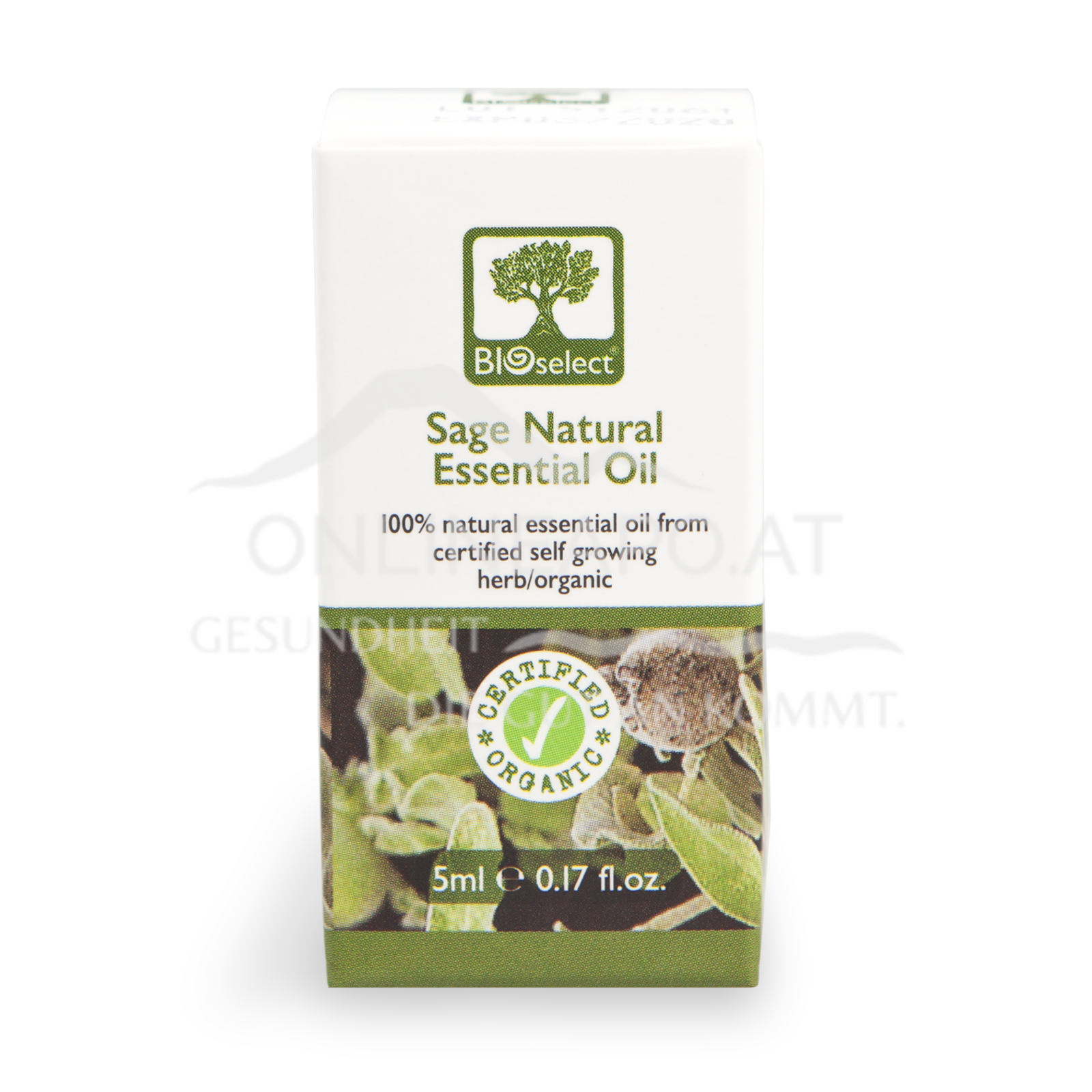 Bioselect Sage Natural Essential Oil Certified Organic