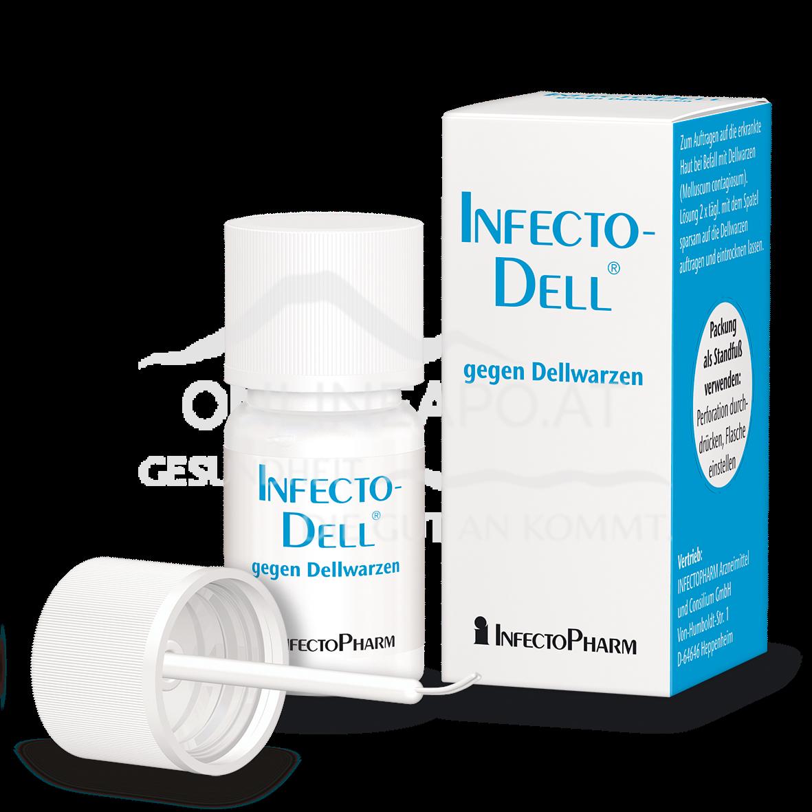 Infectodell Lösung gegen Dellwarzen
