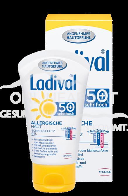 Ladival® Allergische Haut Sonnenschutz Gel Gesicht LSF 50+