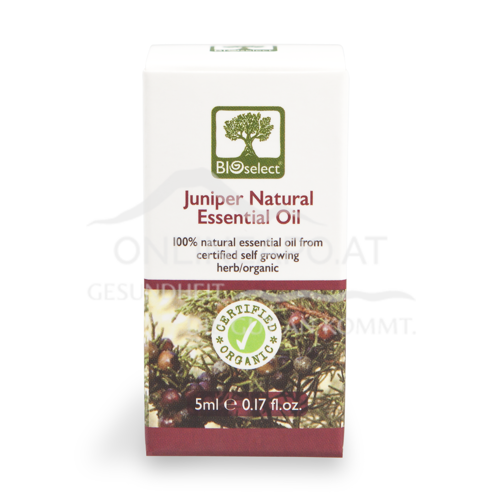 Bioselect Juniper Natural Essential Oil Certified Organic