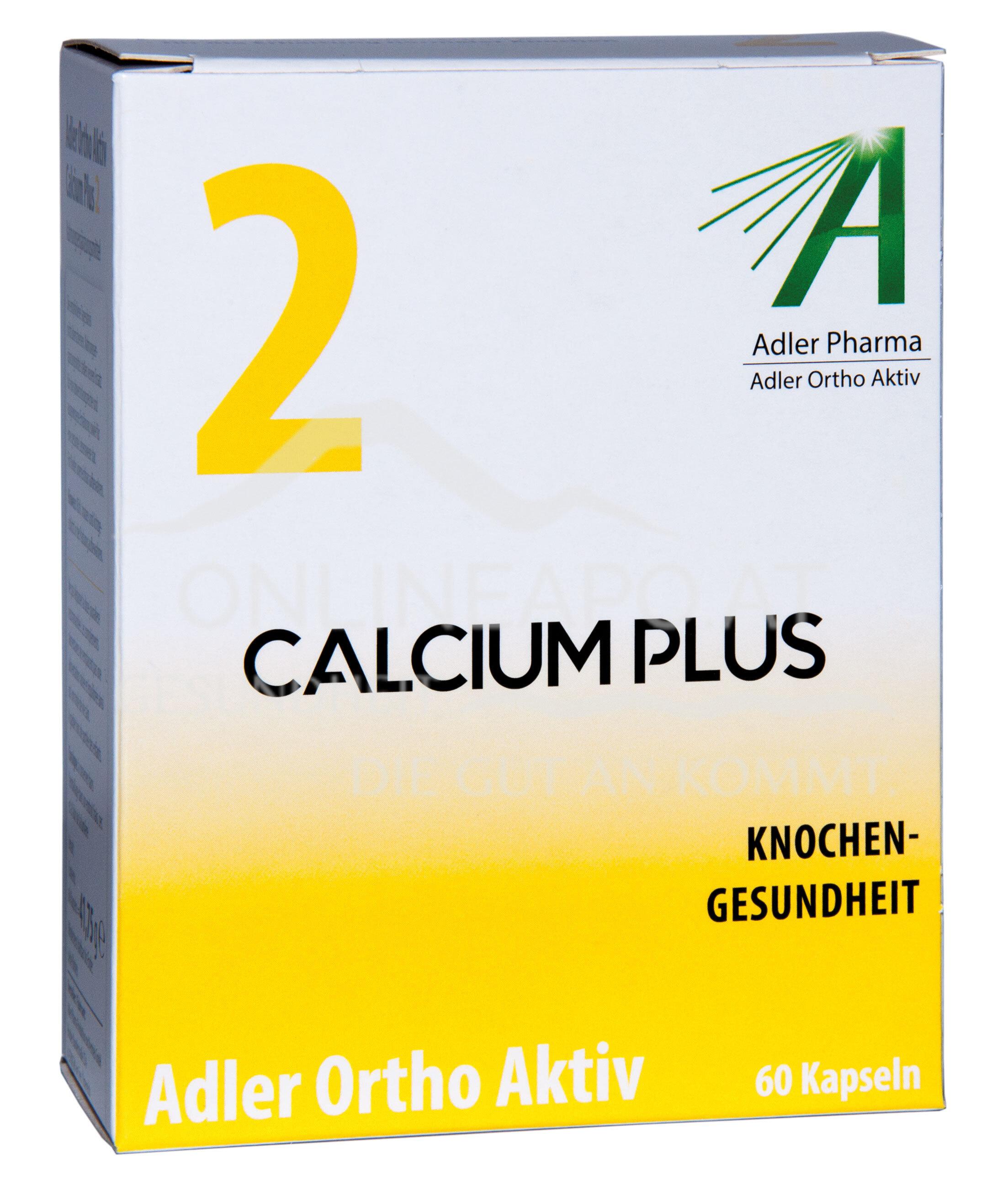 Adler Ortho Aktiv Nr. 2 Calcium Plus