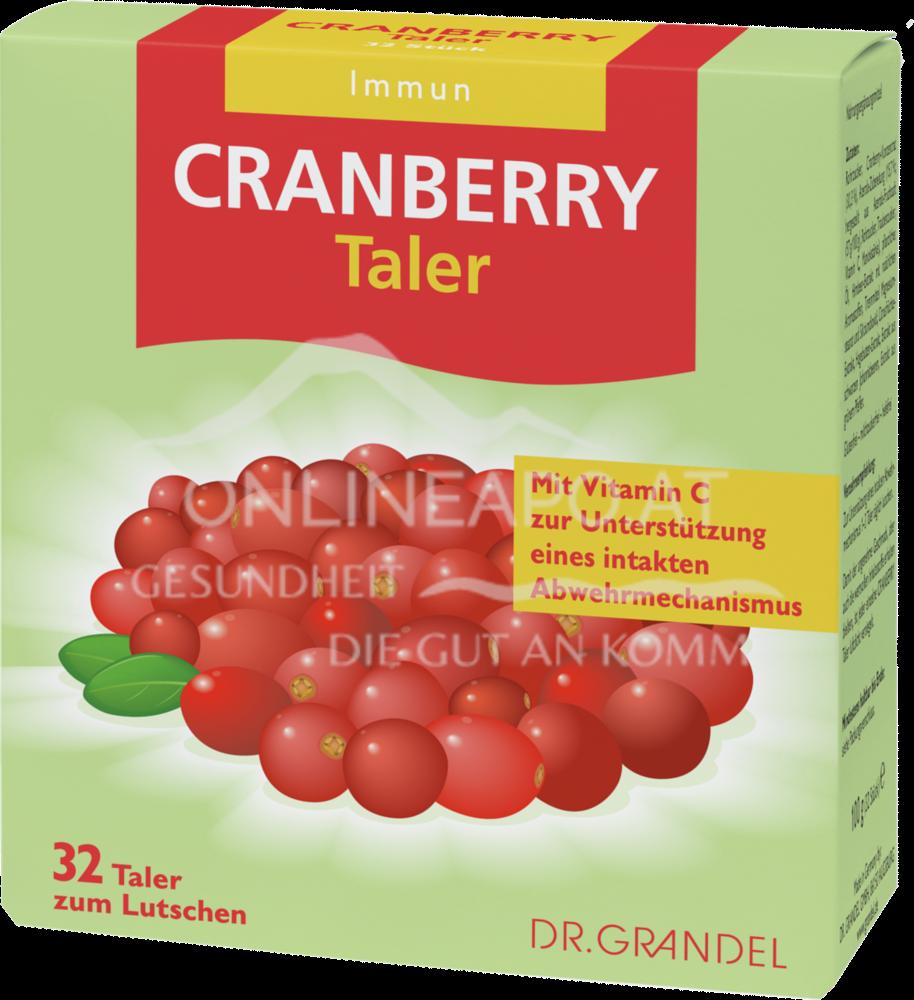Dr. Grandel Cranberry Cerola Taler