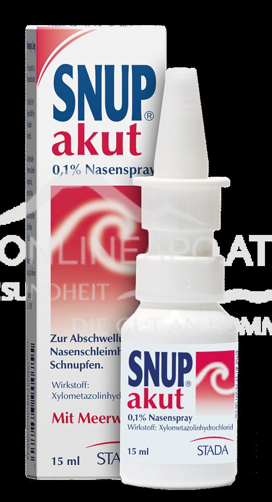 SNUP Akut Nasenspray 0,1%
