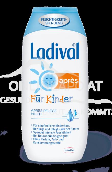 LADIVAL® Kinder Après Pflege Milch