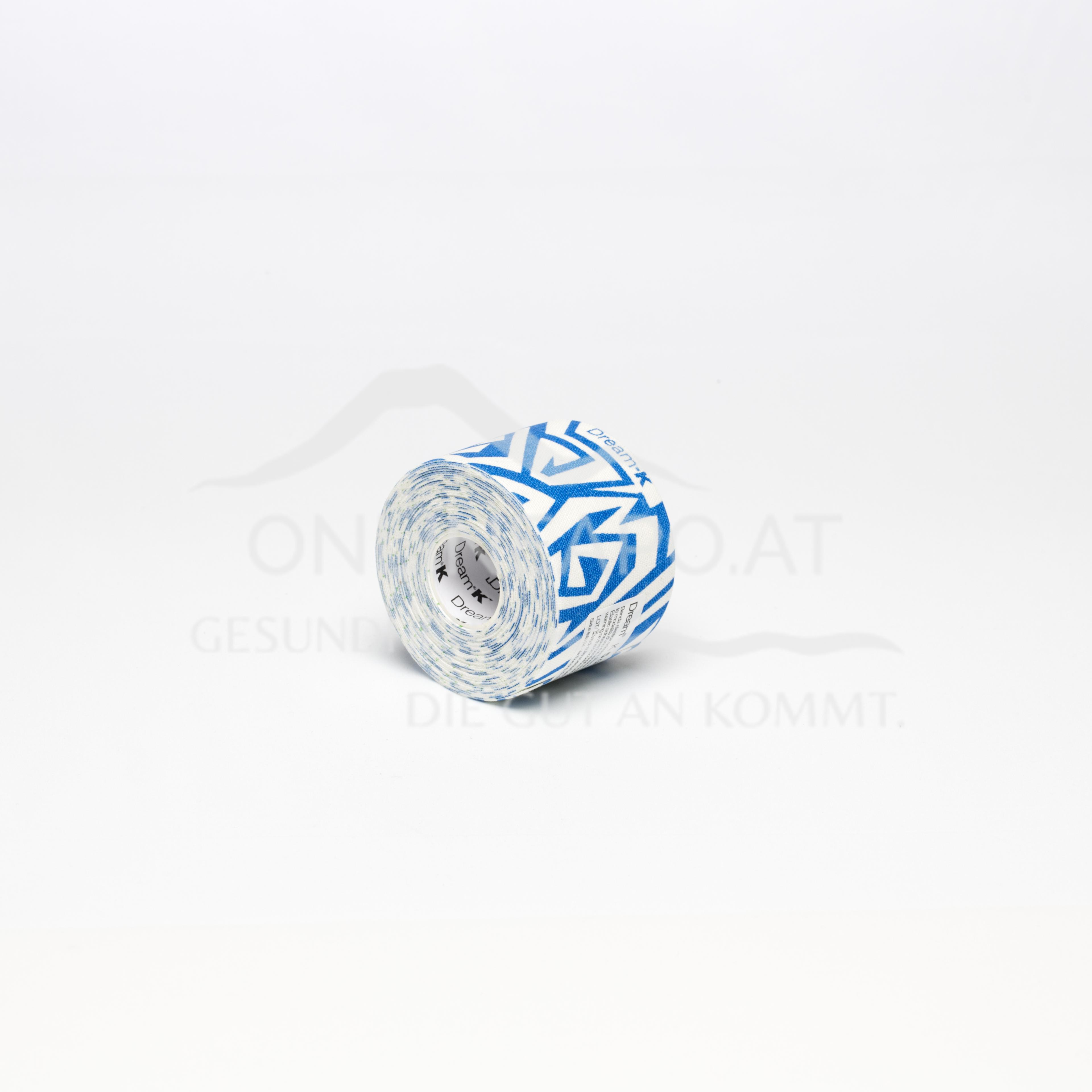 DREAM® K Tribe Weiß/Blau 5cm X 2m