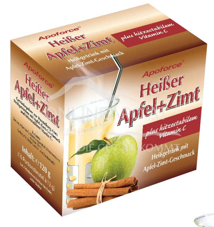 Apoforce® Heißer Apfel+Zimt