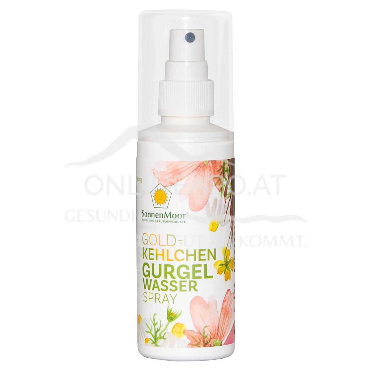 SonnenMoor Gurgelwasser Spray
