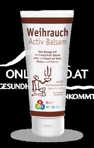 Weihrauch Aktivbalsam