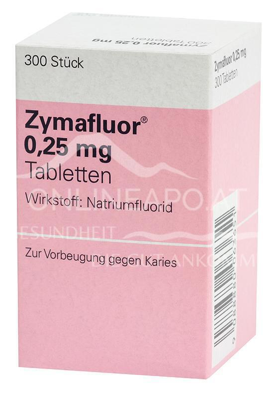 Zymafluor 0,25mg - Tabletten