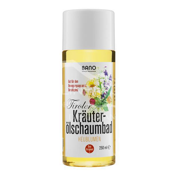 BANO Tiroler Heublumen Kräuterölschaumbad