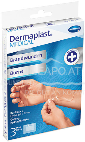 Dermaplast® MEDICAL Brandwunden 4,5 x 6,5cm