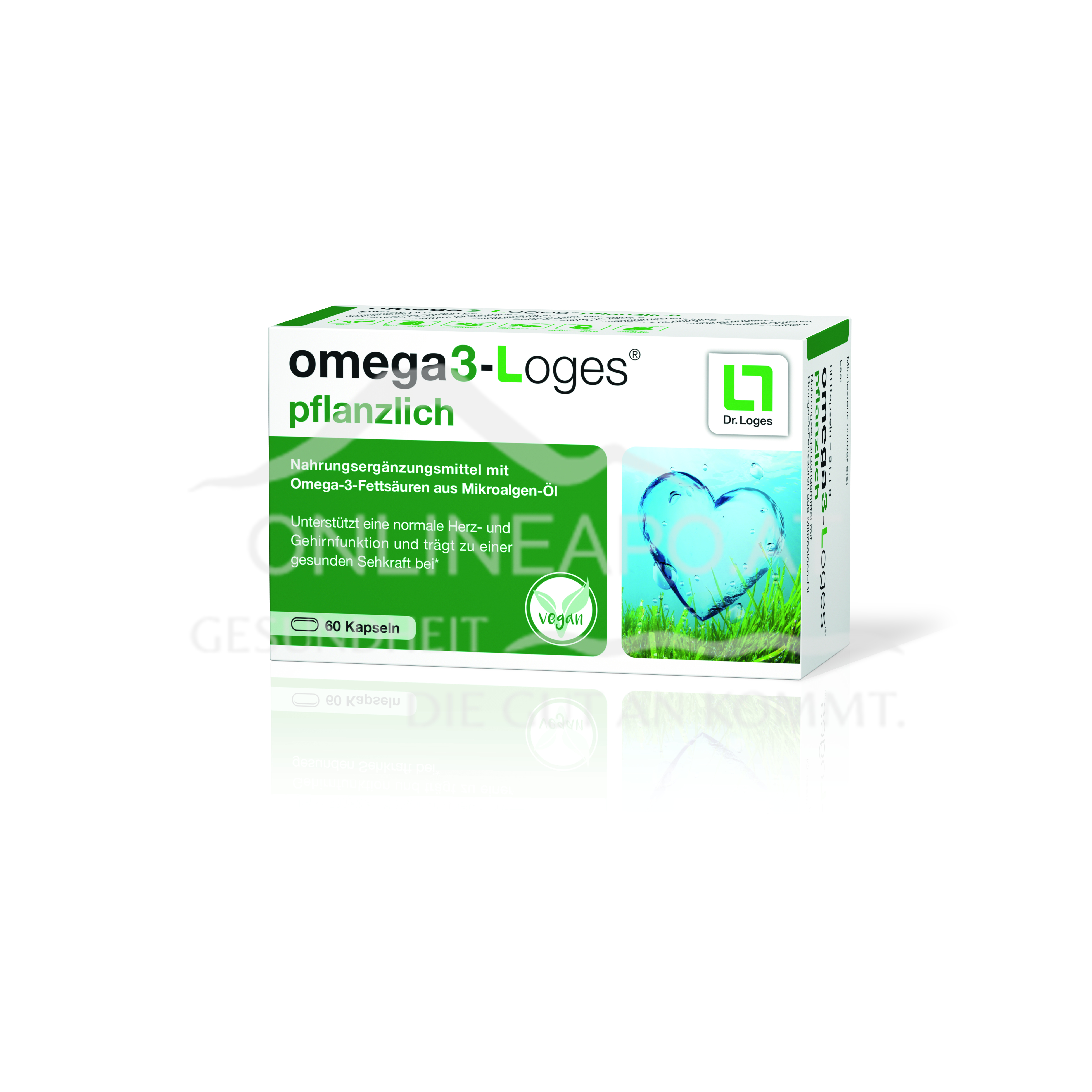 omega3-Loges® pflanzlich Kapseln