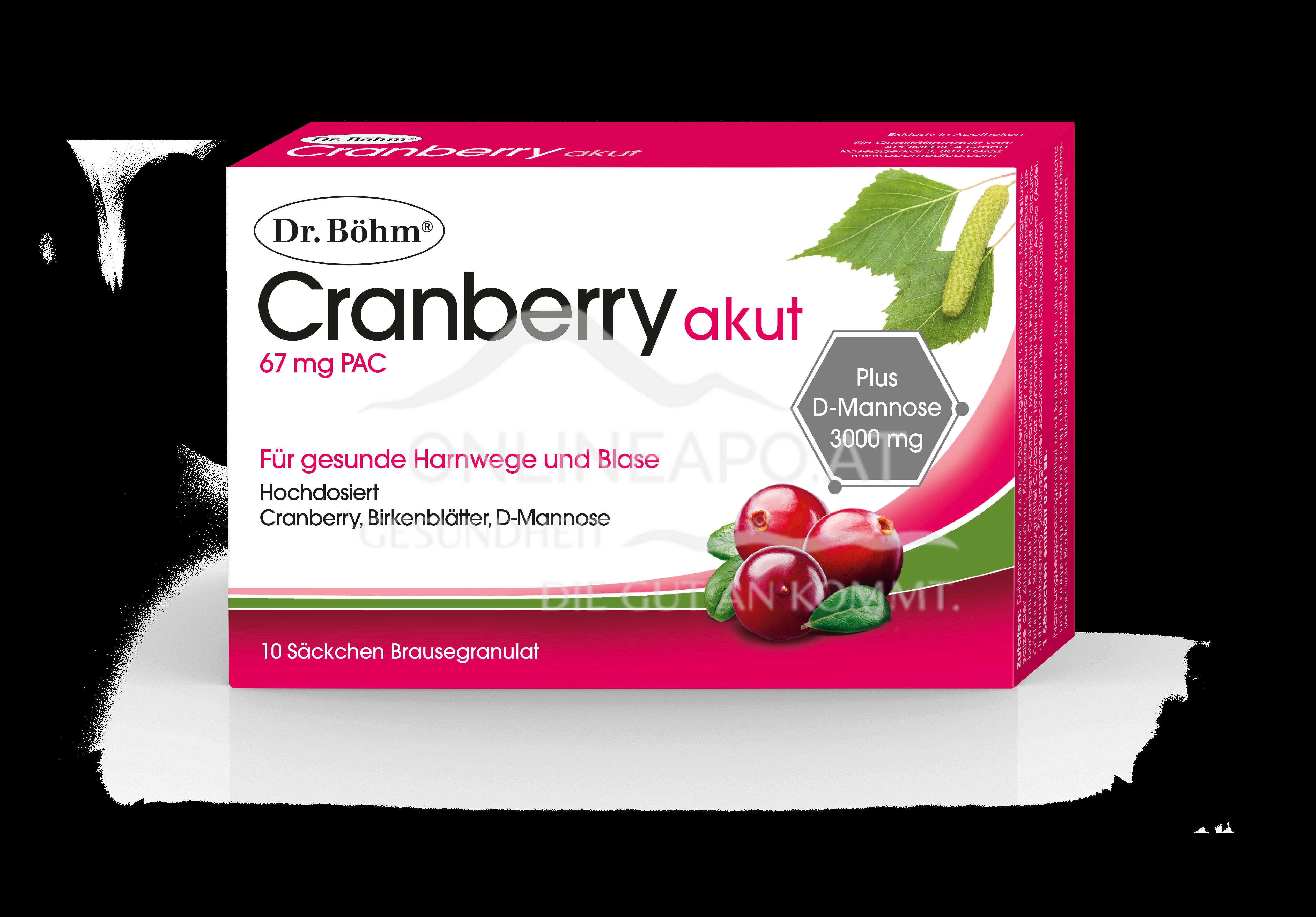 Dr. Böhm® Cranberry akut