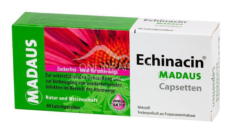 Echinacin Madaus Capsetten